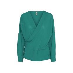 Soya Concept Wrap Blouse 18 Ivy Green