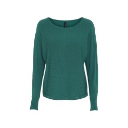 Soya Concept Button Back Jumper 18 Ivy Green