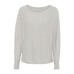 Soya Concept Button Back Jumper 14 White