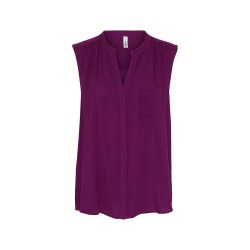 Soya Conceot Sleeveless Shirt 16 Fuschia