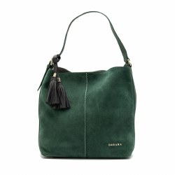 Zohara Balloo Shopper Forest Green