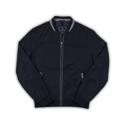 Baileys Light Bomber Jacket M Navy
