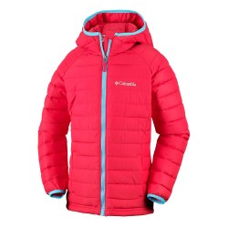 Columbia Girls Powder Lit Jacket 3 yr Red Element