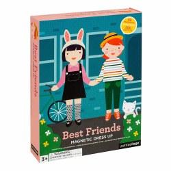 Petit Collage Magnet Play Best Friends