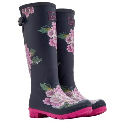 Joules Tall Printed Welly