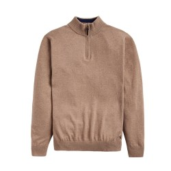 Joules Hillside 1/4 Zip Jumper XL Camel
