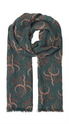 NN 1-8249-1 Wool Print Scarf G