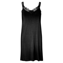 Noa Noa Cotton Slip S Black