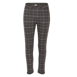 Part Two Fighty Check Jersey Trousers 10