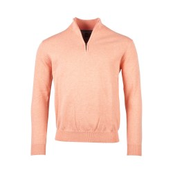 Baileys 1/4 Zip Jumper L Peach