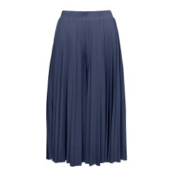Great Plains Pleat Culottes 16 Navy
