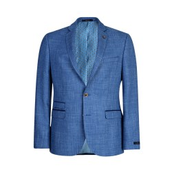 Magee Textured Jacket 46R Blue