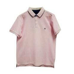 Peter Montana Reverse Collar Polo M Pink