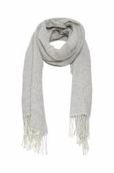 Part Two Adanna Wool Scarf Grey