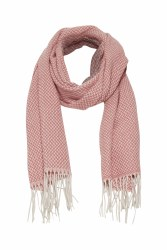 Part Two Adanna Wool Scarf Pink