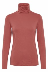 Part Two Afinas Polo Neck Top XS Dusty