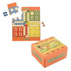 Mini Vintage Game - Ludo