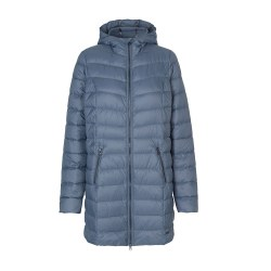 Ilse Jacobsen Air Down Coat 10 Blue Gray