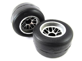 RIDE Pre-Mounted F104 Rear Slick Tire / R1 High Grip