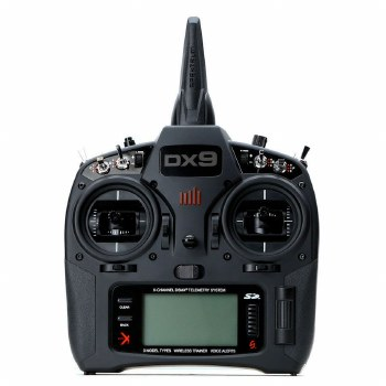 Spektrum RC DX9 Black 9-Channe