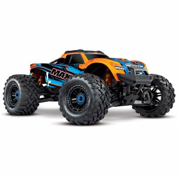Traxxas Maxx 1/10 4WD Brushless Monster Truck Ready to Run (Orange)
