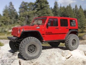 "Axial SCX10 II ""2017 Jeep Wrangler CRC Edition"" Ready to Run 44wd Scale Rock Crawler"