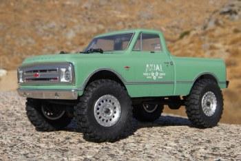 Axial SCX24 1967 Chevrolet C10 1/24 4WD Ready to Run Scale Mini Crawler (Green)