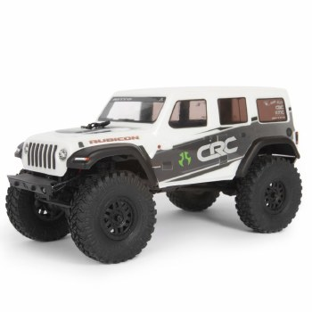 Axial  SCX24 2019 Jeep Wrangler 1/24 4WD Ready to Run Scale Mini Crawler (White)