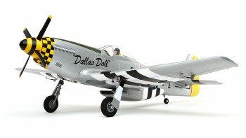 Eflite P-51D Mustang Bind and Fly Basic