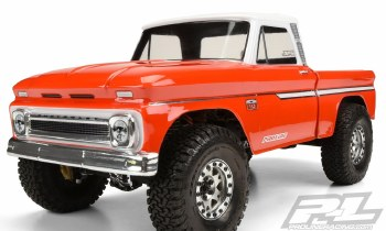 1966 Chevy C-10 Clear Body :Tr