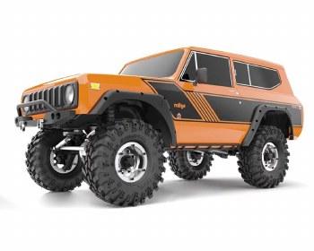 Redcat Gen8 International Scout II 1/10 4WD Scale Rock Crawler Ready to Run (Orange)