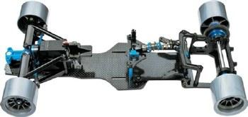 Tamiya 1/10 F104 Version 2 Chassis Kit