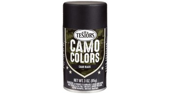 3 oz Camouflage Spray, Black
