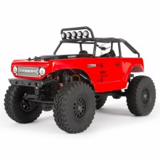 Axial SCX24 Deadbolt 1/24 Ready to Run Scale Mini Crawler (Red)