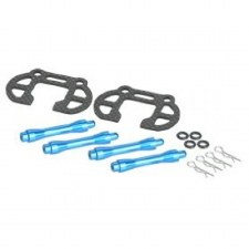 3Racing Graphite Battery Holder for Tamiya M-Chassis