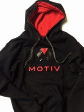 Motiv Heavy Hoodies (XL) (Black)