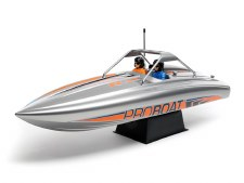 "ProBoat 23"" Brushless Deep-V Self-Righting River Jet Ready to Run Boat (Silver)"