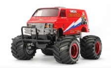 Tamiya 1/12 Lunch Box Monster Truck Kit - Red Edition