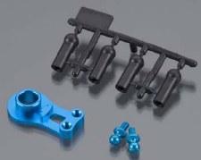 Tamiya M05 Aluminum High Torque Servo Saver (Blue)
