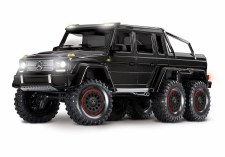 Traxxas TRX-6 1/10 6x6 Trail Crawler Truck w/ Mercedes Benz G 63 AMG Body (Black)
