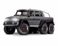 Traxxas TRX-6 1/10 6x6 Trail Crawler Truck w/ Mercedes Benz G 63 AMG Body (Silver)