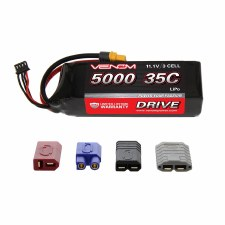 Venom 11.1V 5000mah 3S 35C Lipo Battery with Universal Connector