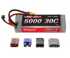 Venom Power 2S 30C 5000mah Lipo Batter with