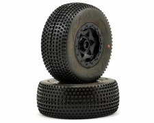 AKA Enduro Short Course Pre-Mount Wheel & Tire - Super Soft with Red Insert