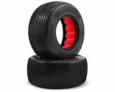 AKA Enduro Short Course Tire - Soft with Red Inster