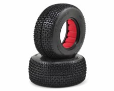 AKA Cityblock 3 Wide Short Course Tire - Soft with Red Insert