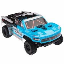 ARRMA Senton Mega 1/10 4x4 Short Course Truck Ready to Run (Blue/Black)