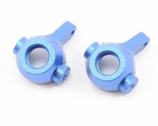 Associated Factory Team RC18T Aluminum Steering Blocks - Blue