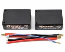 Reedy 2S 7.4V 65C 5700mah Lipo Saddle Battery Pack