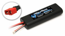Reedy WolfPack 2S 7.4V 3000mah 25C Rounded Lipo Battery with Deans Connector